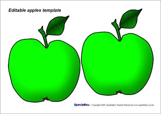24 best Thema Appeltjes images on Pinterest Apples, Preschool - editable leaf template
