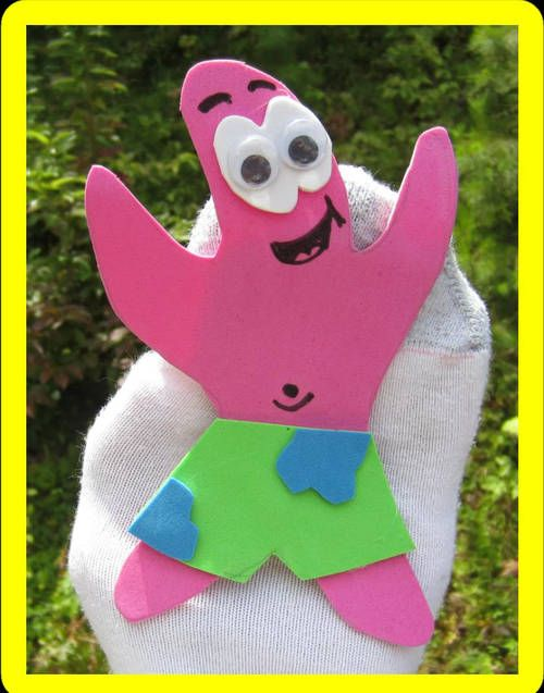 How To Make Sock Puppets - Spongebob and Patrick - TOYS, DOLLS AND PLAYTHINGS...