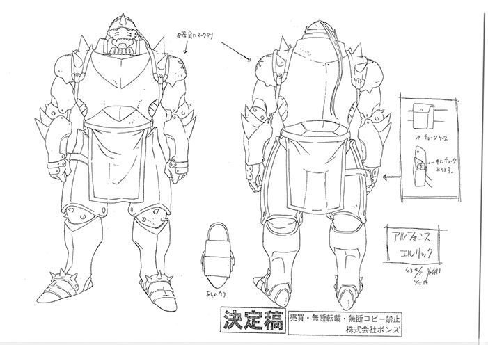 Anime Settei Fullmetal Alchemist Settei Pre Settei