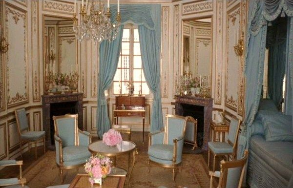 "From the movie ""Marie Antoinette""Baby Blue, Hidden Room, Marie Antoinette, Blue Room, Formal Living Room, Dining Room Colors, Sitting Room, Mary Antoinette, Bedrooms Decor"