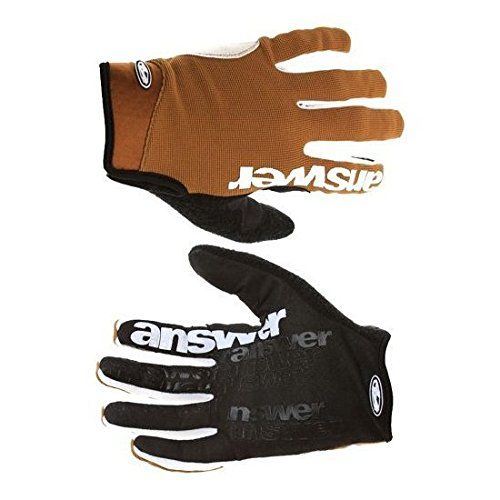 Answer Fall Line XC Mountain Bike Full Finger Gloves XXL Clay Brown -- Click on the image for additional details.