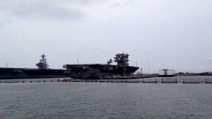 Norfolk naval base .. Virginia ..
