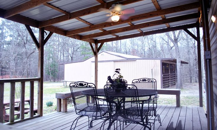 rv trailer deck ideas  Google Search  Woodhaven Lakes camping ideas  Covered decks Trailer