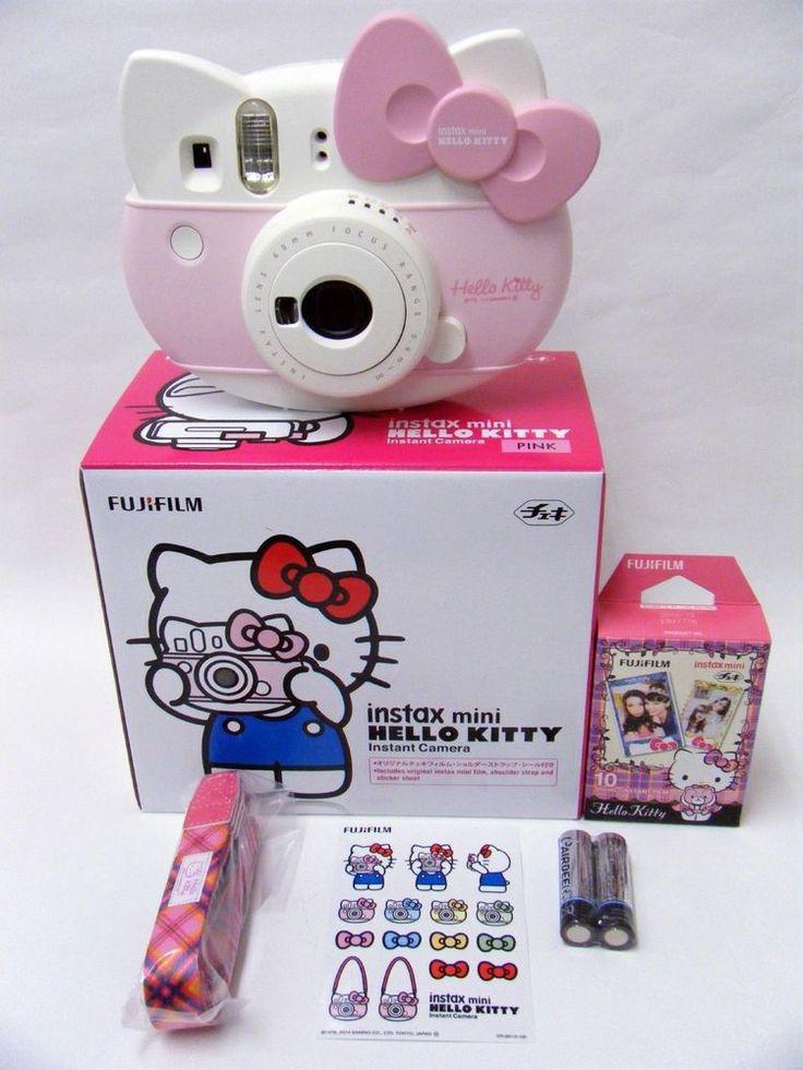 New ♪ Sanrio / Hello Kitty Instax mini / Instant camera / from Japan FUJIFILM