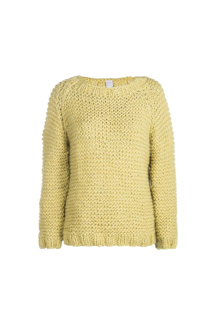 Anna Dudzińska, CONCRETE GREEN, aw2015, sweater DERY (canary yellow). To download high or low resolution product images view Mondrianista.com (editorial use only).