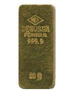 Sargbarren der Degussa AG - #gold