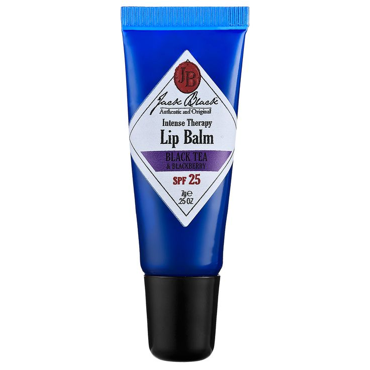 Jack Black Intense Therapy Lip Balm SPF 25 protects lips from sun and wind, and has soothing effects. Find Intense Therapy Lip Balm at Sephora today.
