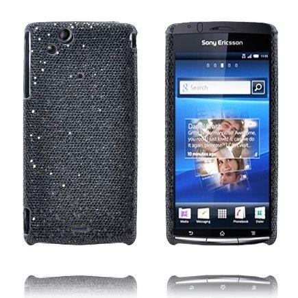 Victoria (Sort) Sony Ericsson Xperia Arc Deksel