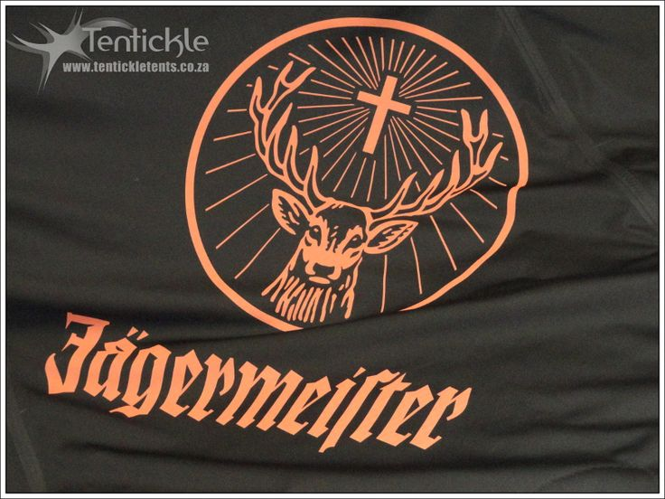 Jagermeister branding on a Tentickle bedouin stretch tent