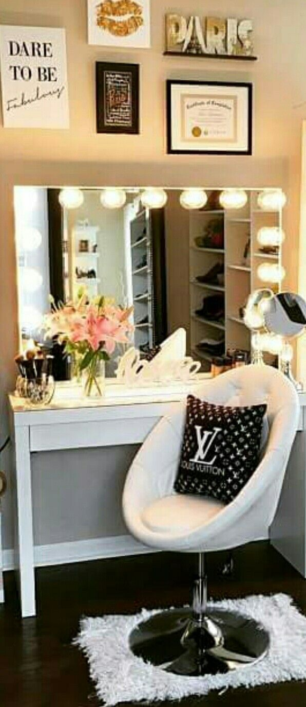 Homemade vanity