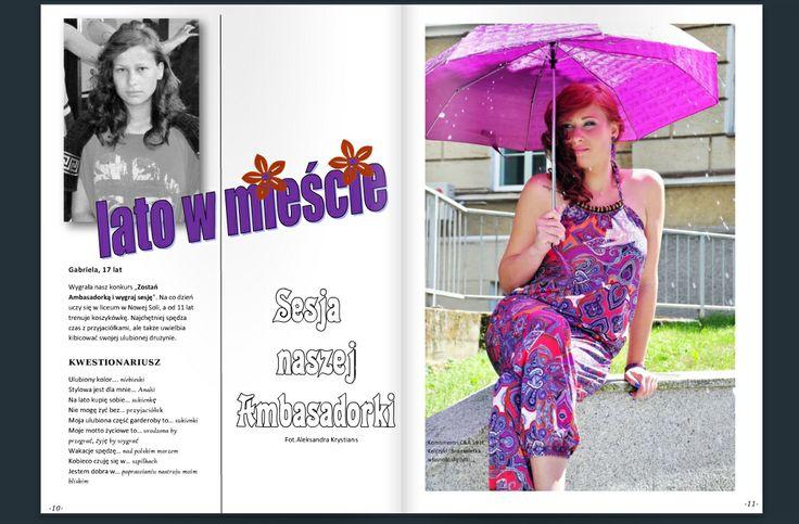 www.stylowa.zgora.pl www.foto-inspiracja.pl Fotograf: Aleksandra Krystians Modelka: Gabriela Wdowiak