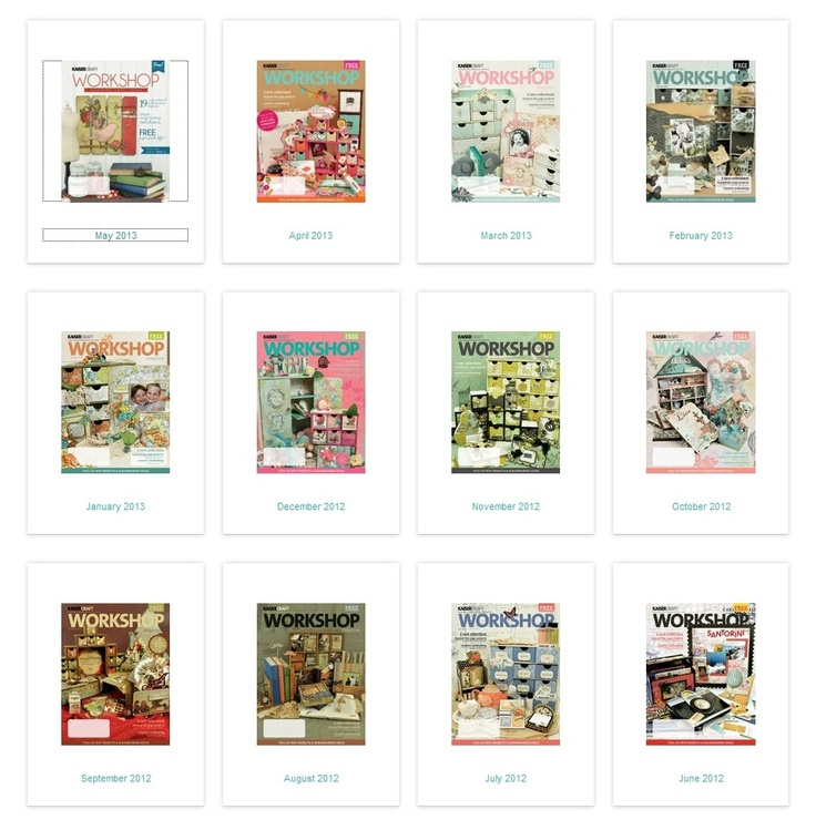 free digital magazine downloads: Kaisercraft Workshop http://www.kaisercraft.com.au/newsite/magazines.php