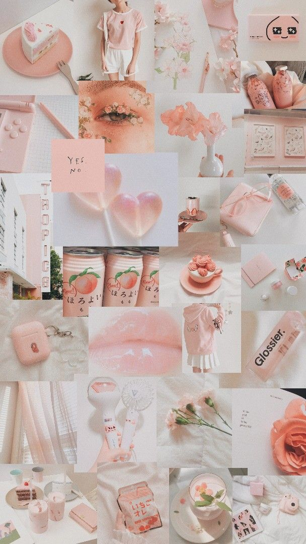 Cute Collage Wallpaper Jennxpaige ♔ In 2019 Aesthetic Pastel Wallpaper