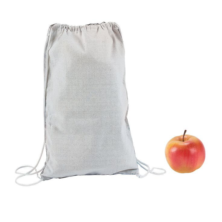 fabric paint, pens, iron on our logo and or camp theme DIY White Backpacks - OrientalTrading.com