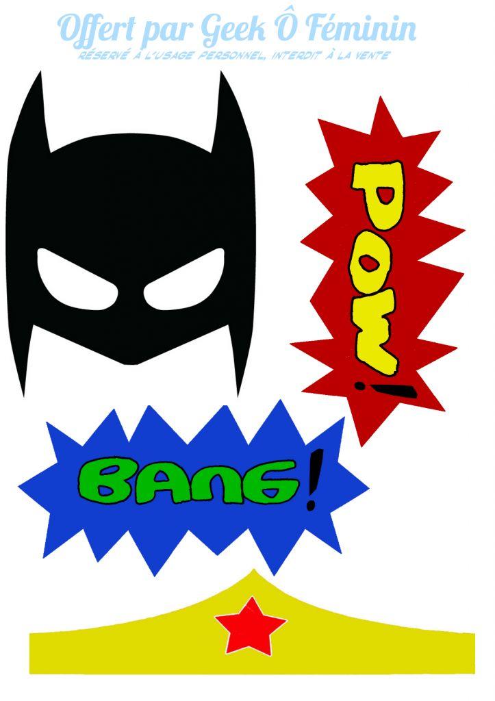 Photobooth Super Heros 1
