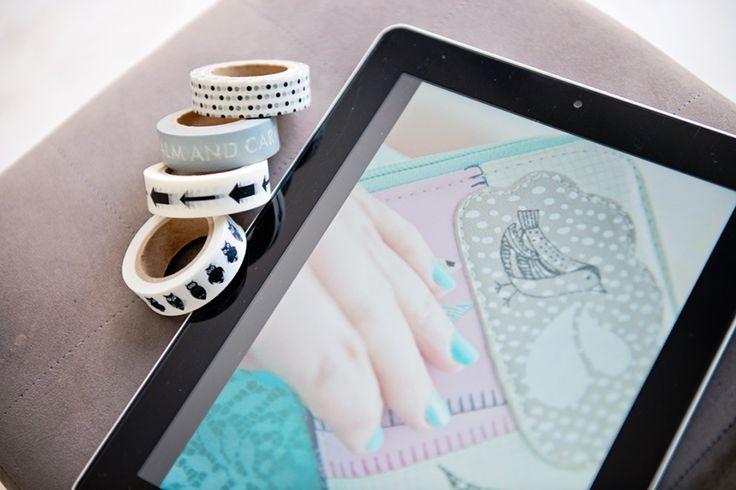 Washi tape iPad :) love
