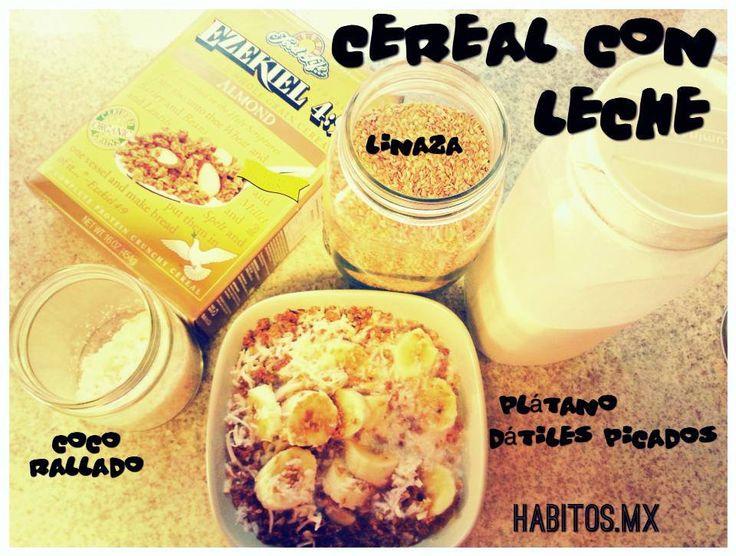 Cereal con leche! :)