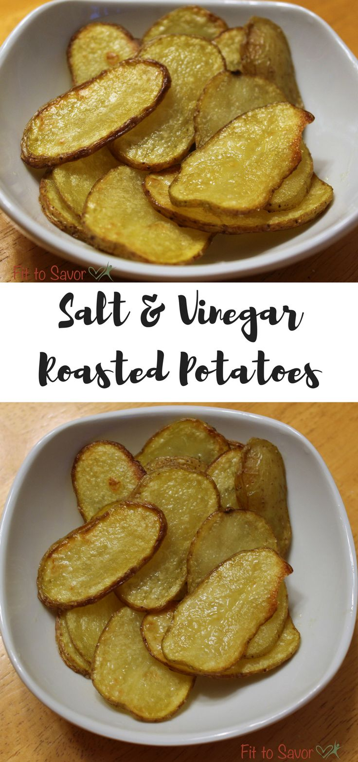 Salt & Vinegar Roasted Potatoes. If you're obsessed with salt and vinegar potato chips, you need to try this healthier, 21 day fix approved version! The trick is...