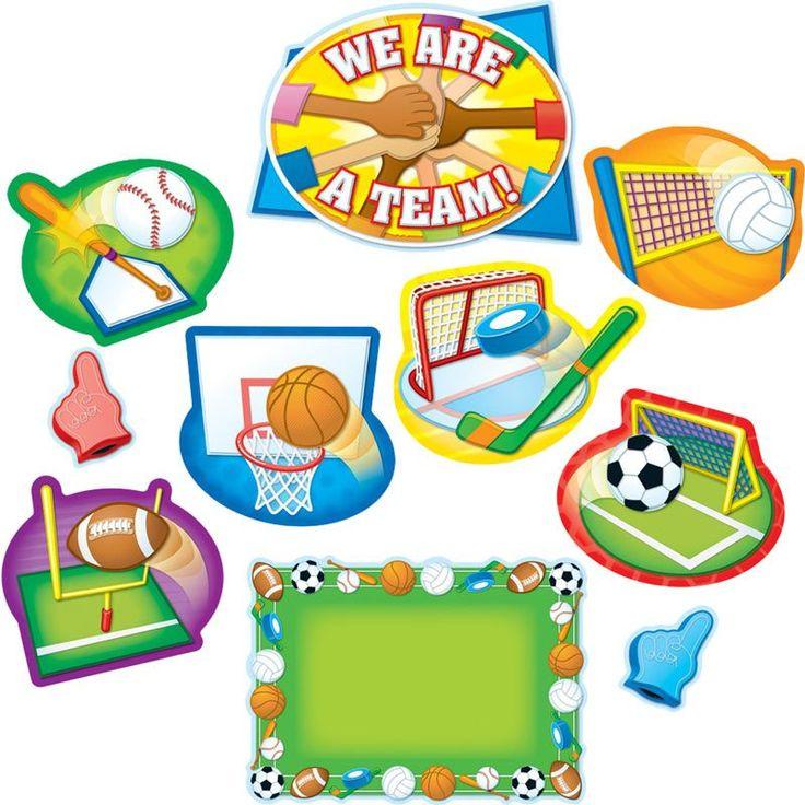All-Star Sports Bulletin Board Set