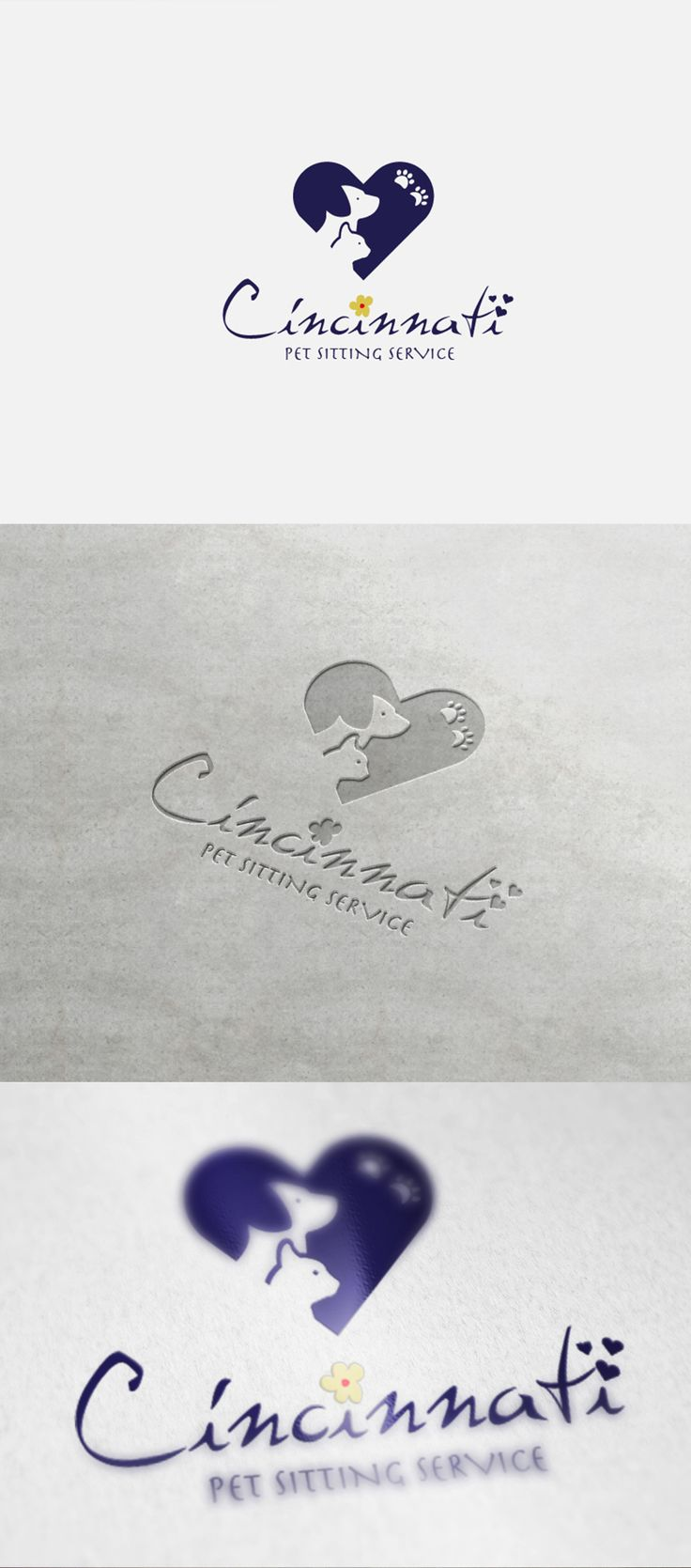 """Logo """"Cincinnati Pet Service"""""""
