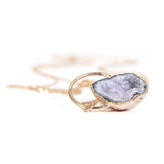 Raw Amethyst Necklace Crystal Necklace February Birthstone Geode Necklace Druzy Necklace Geode Jewelry Gift For Her Agate Necklace Raw Stone Jewelry Geode Jewelry Geode Necklace Druzy Necklace Druzy Jewelry Gift For Her Raw Stone Necklace Raw Crystal Boho Necklace Boho Jewelry Unique Jewelry Gift Long Druzy Necklace Agate Jewelry Natural Stone Necklace Girlfriend Gift Ideas Anniversary Gift