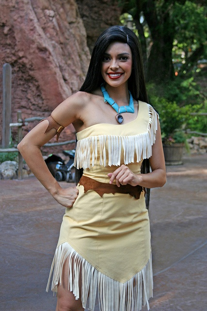 Pocahontas-Anaheim @delanie turner seeee this is me!!!!!!