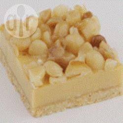 Caramel Macadamia Slice @ allrecipes.com.au