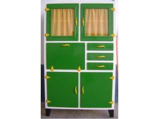 Mueble cocina antiguo alacena armario aparador retro - Cocinas retro anos 50 ...