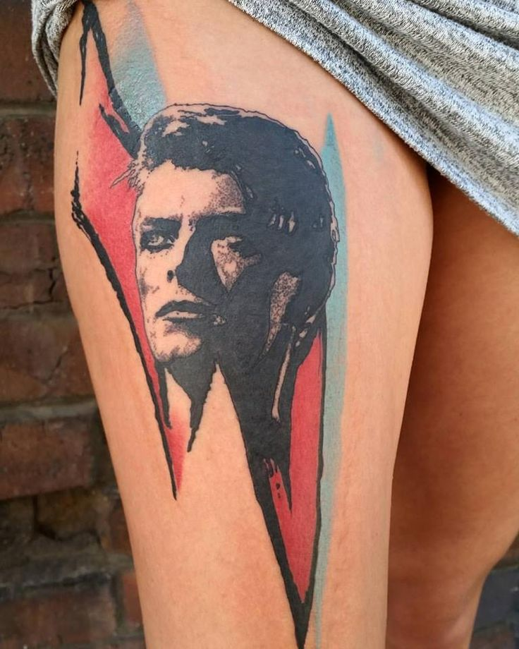 121 best bowie tattoos images on pinterest tattoo ideas for Bowie tattoo ideas