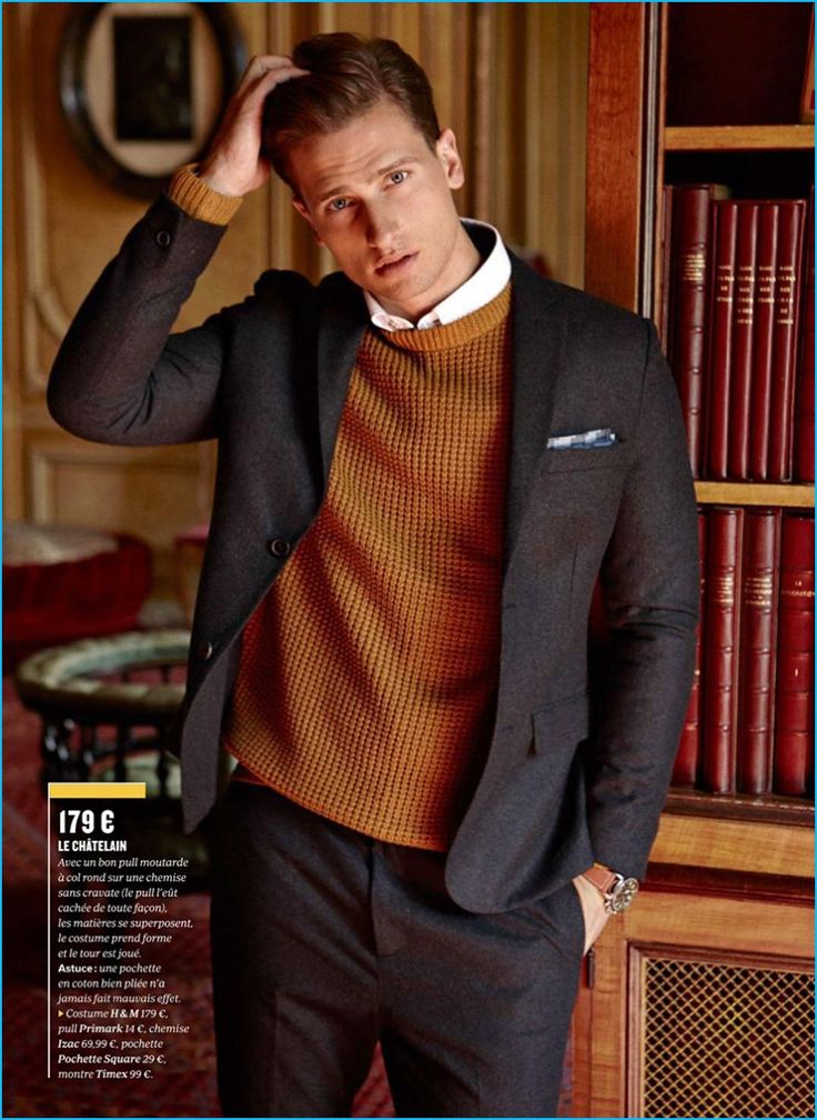British model Tom Warren appears in the latest issue of GQ France, wearing affordable suiting options. Photographed by Arnaldo Anaya-Lucca with styling by Jacqueline de Cossette, Tom dons trim suits, embracing both solid numbers and classic patterns such as a windowpane print. Tom's accessible wardrobe includes brands such as Mango, H&M, and Original Penguin. Related:...[ReadMore]