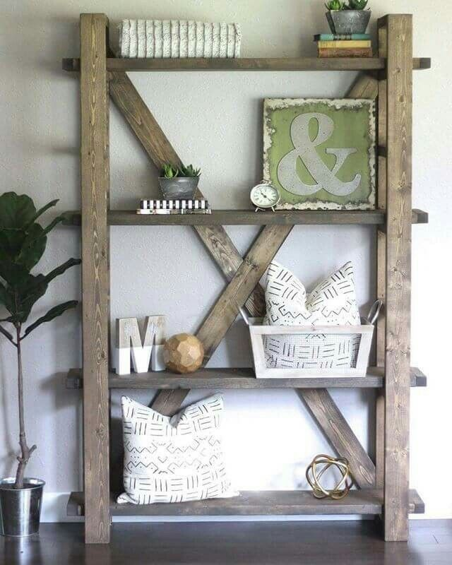 17 Diy Rustic Home Decor Ideas For Living Room: 17+ Ideas About Rustic Bookshelf On Pinterest
