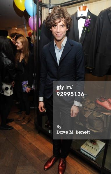 Mika attends a release party for his EP 'Songs Of Sorrow' at Lanvin on November 11, 2009 in London, England