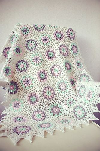 Ravelry: petite-k's Colorful blanket II
