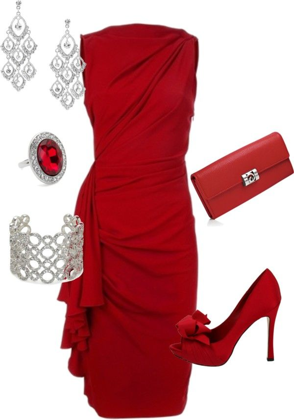 """paint the town red"" by teresajohnson-1 on Polyvore"