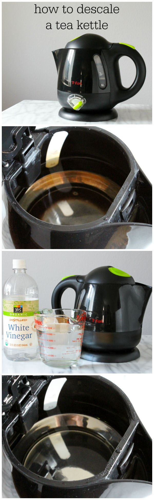 Electric Kettle Descale Electric Kettle Vinegar