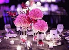 Lovely Quince Decorations #6 Quinceanera Table Centerpieces