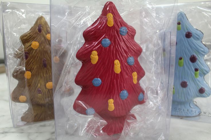 Christmas tree chocolates Colestown Chocolates #forher #forhim #forkids #westfieldnewmarket