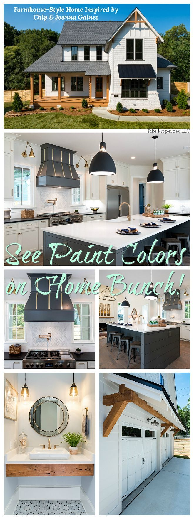 Farmhouse-Style #Home #Inspired #by #Chip #& #Joan…
