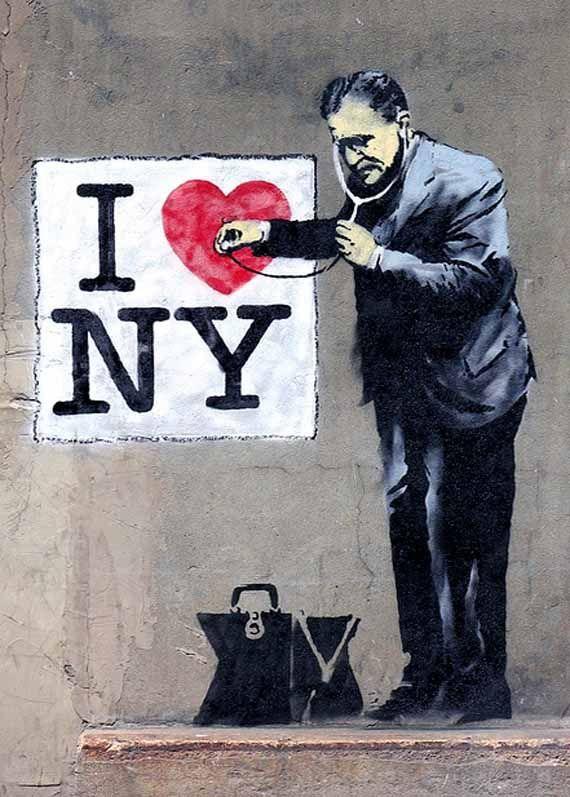 Banksy NY - See http://www.freshnessmag.com/2010/05/18/banksy-in-new-york-city-the-twilight-graffiti-saga/