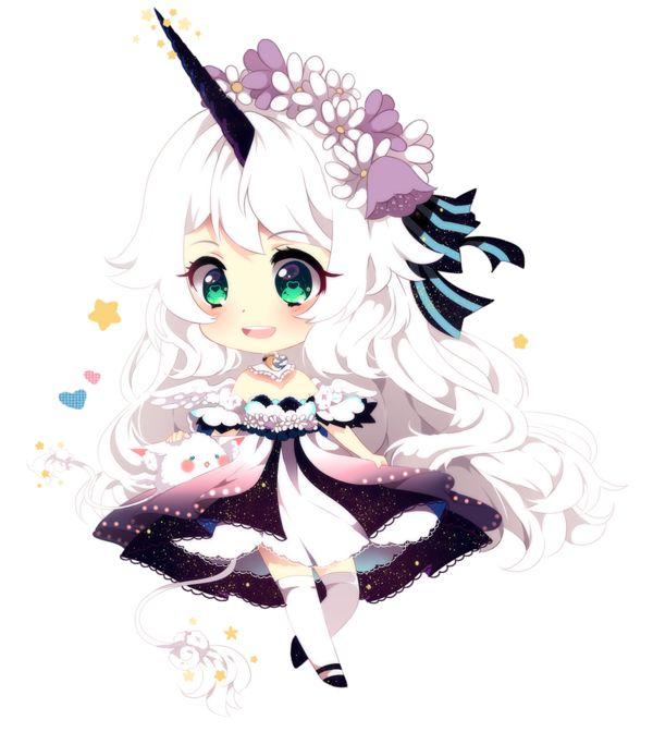 Manga Kawaii Licorne !