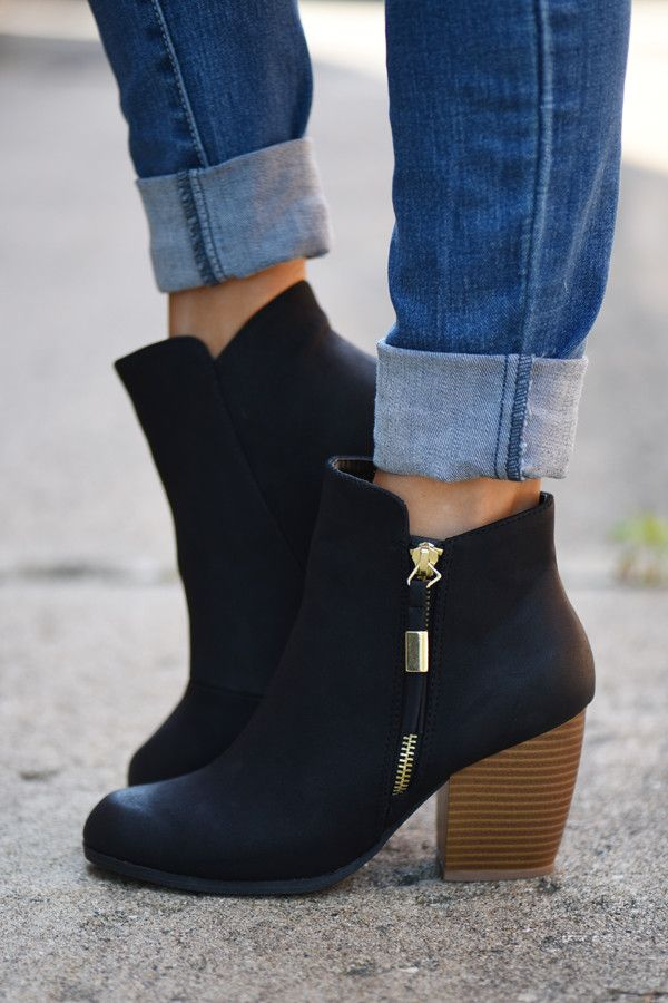 17 Best Ideas About Black Booties On Pinterest | Black ...