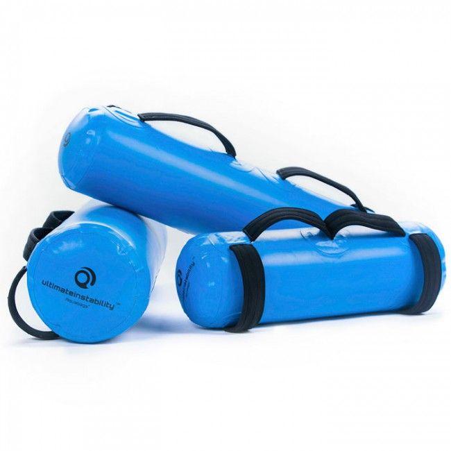 Ultimateinstability Aquabag Large  Description: Maak kennis met een nieuwe manier van trainen waarbij?hydro inertia? (traagheid van het water) een grote rol speelt. Dankzij de traagheid van het water ontstaat er veel instabiliteit tijdens training. Er zijn vele producten op de markt voor het verbeteren van stabiliteit. Nadeel is dat deze producten vrijwel allemaal gebruik maken van een instabiele ondergrond waar je op moet zitten of staan. Bij de Aquabags zit de instabiliteit in het gewicht…