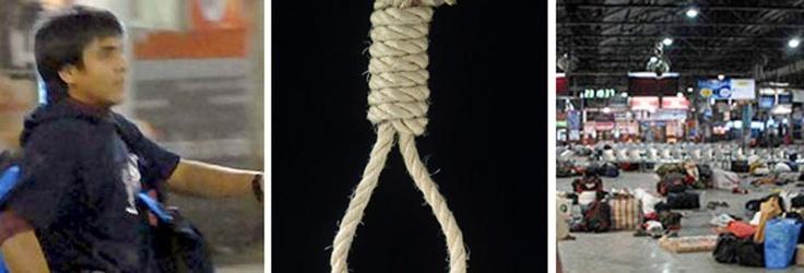 Ajmal Amir Kasab, the lone surviving Pakistani terrorist of the 2008 Mumbai terror attacks, was hanged at ... http://www.frontpageindia.com/nation/ajmal-kasab-hanged-at-yeravada-jail-in-pune/44106