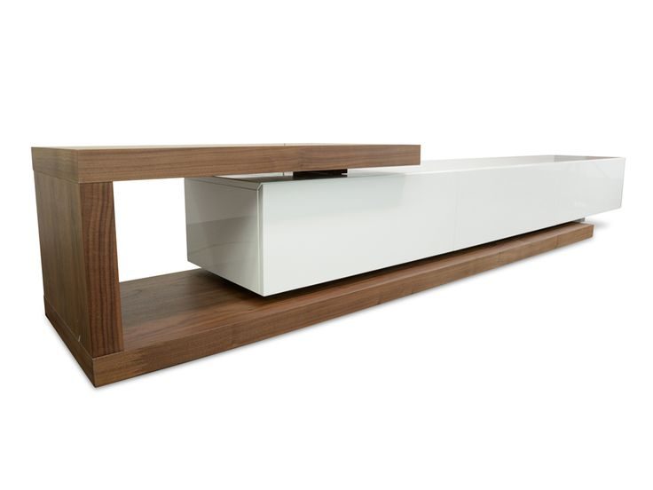 Boasting a contrasting, strikingly modern design and generous storage space, Dwell Entertainment TV Unit – Walnut makes the perfect addition for any contemporary setting.