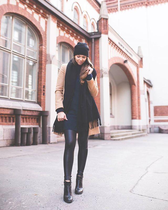 @strictlystyle wearing #KATRINISKANEN Skin pants.  #photo @kira_kosonen