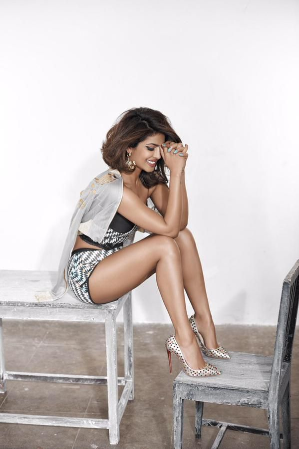 Priyanka Chopra photoshoot for Cosmopolitan India Magazine March 2015.