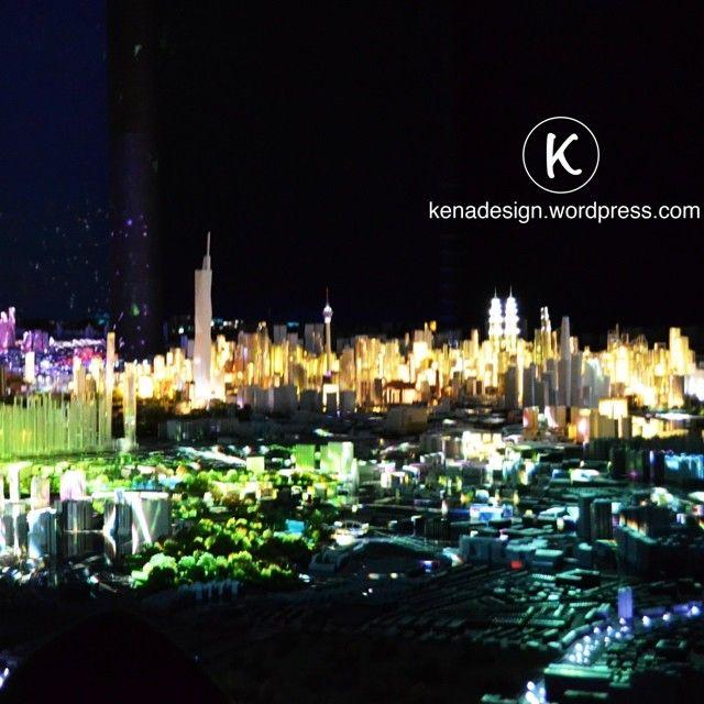 Kuala Lumpur :: KL ::  Beautiful design with a rain of lights  architecture - travel - arquitectura - viajar - diseno