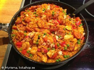 Paella Mixta - Recept