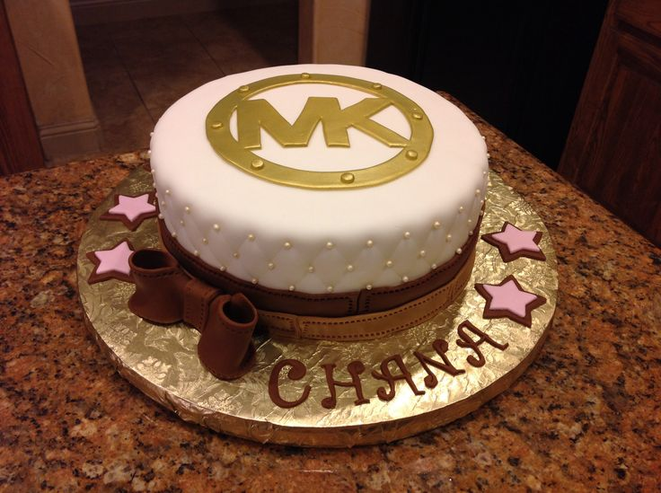 Best 25 Michael Kors Cake Ideas On Pinterest Cream
