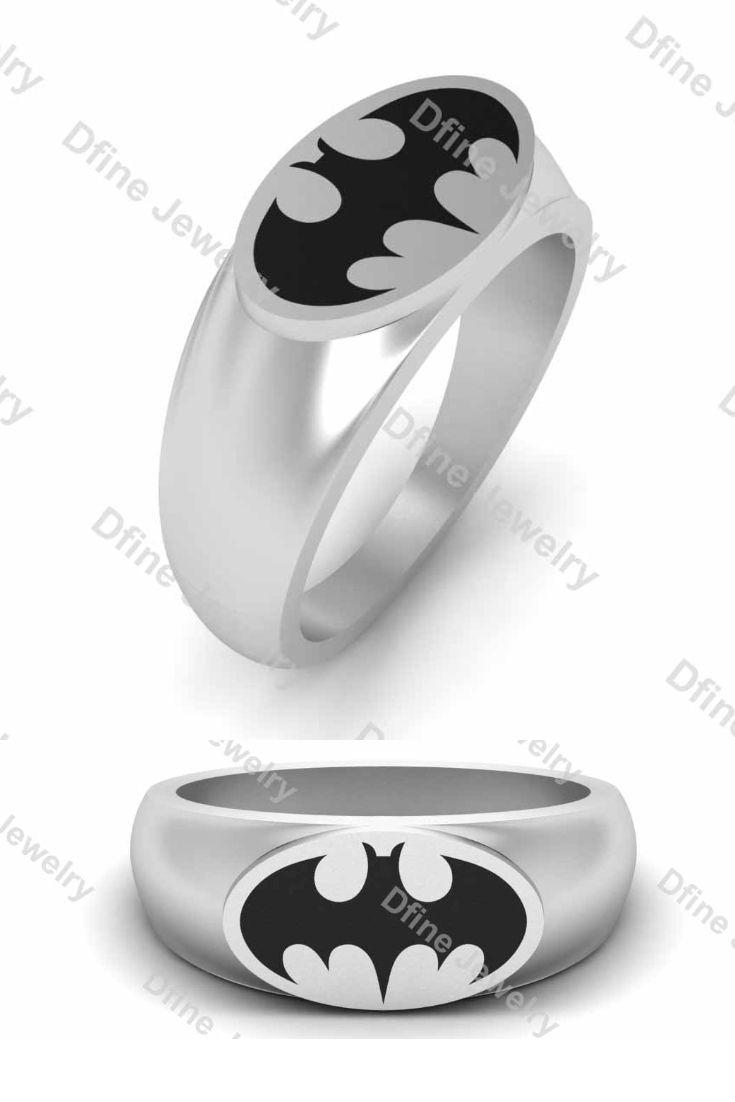 Batman Wedding Ring Jewelry Dfine Jewelry Store Batman Wedding Rings Pink Sapphire Wedding Band Jewelry Wedding Rings